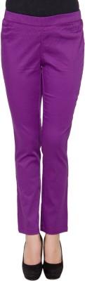 Amari West By INMARK Women's Purple Jeggings