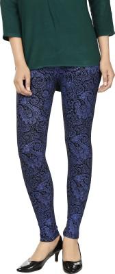 desistyle Women's Black, Blue Leggings
