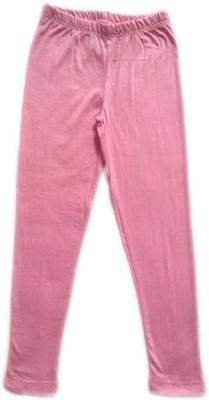 Melisa Girl's Pink Leggings