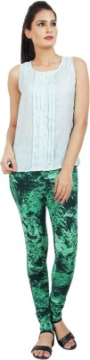 Sananda Fashion Women's Green Jeggings