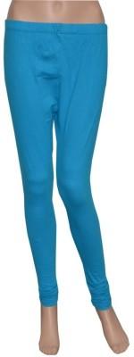 Pezzava Women's Blue Leggings
