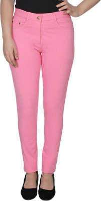 Jepp Women's Pink Jeggings