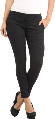Lotus Women's Black Jeggings