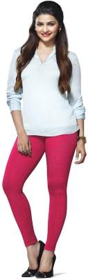 ambey shree trendz Women,s Pink Leggings