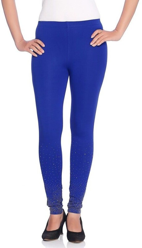 Vanita Women's Blue Leggings