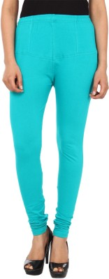 Gudluk Women's Light Blue Leggings