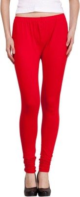 Lotusa Women,s Red Leggings
