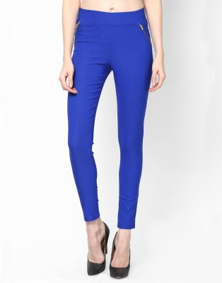 Royal Women's Blue Jeggings