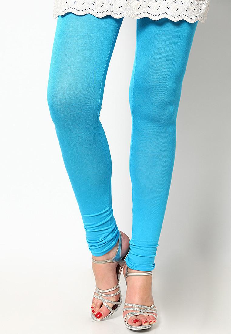 Sportelle USA India Womens Light Blue Leggings