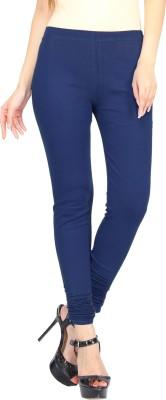 Evila India Retails Private Limited Women's Dark Blue Leggings