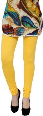Golden Cloud Women's Yellow Leggings