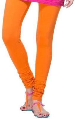 TheEmpire Women's Orange Leggings