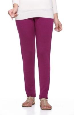 Desi Fusion Women's Pink Leggings