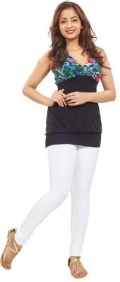 Minu Suits Women's White Leggings