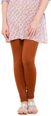 LYCRA Women's Brown Leggings