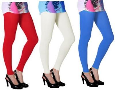 Aamyra Women's Red, White, Blue Leggings