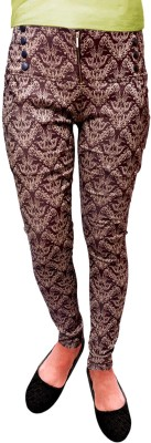 Vogue4all Women,s Brown Jeggings