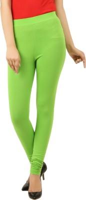 New Darling Women's Light Green Leggings