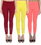 NumBrave Women's Maroon, Yellow, Pink Le...