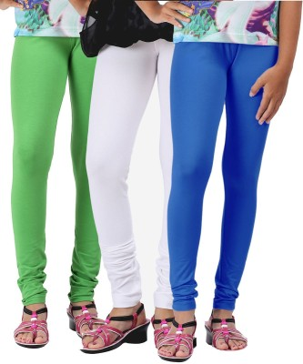 Greenwich Girl,s Green, White, Blue Leggings