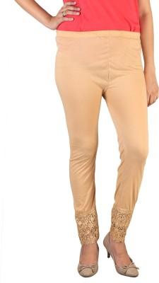 indian street fashion Women's Beige Leggings