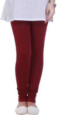 Shop Gyarah Women's Maroon Leggings
