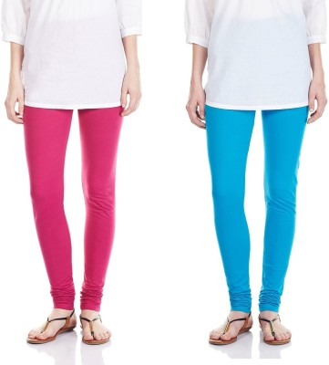 SRS Women's Pink, Light Blue Leggings