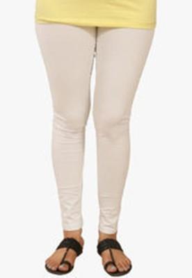 Idesign Women's White Leggings