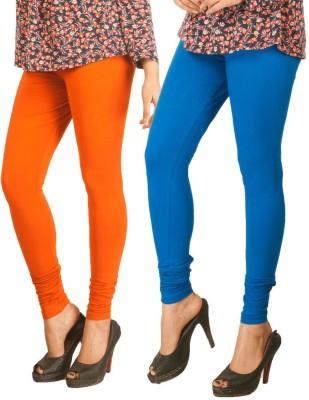 RIF Women's Orange, Blue Leggings