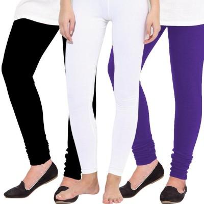 Kiyaracollection Women,s White Leggings