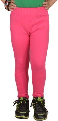 Pretty Angel Girl's Pink Leggings