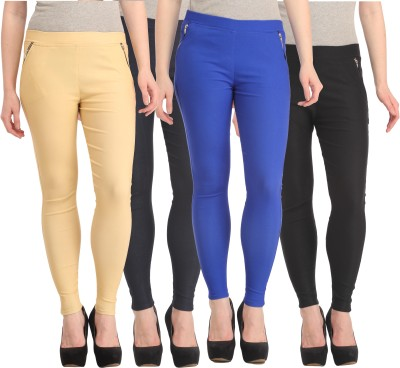 FASHION SHOPPE Women's Multicolor Jeggings