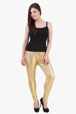 Modattire Women's Gold Leggings