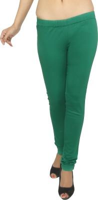 Present Jeans Women's Dark Green Jeggings