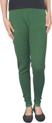 Akira Fashion Women's Green Leggings