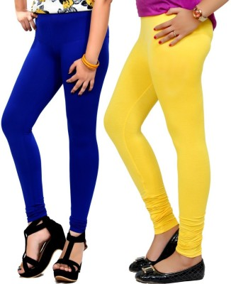 By The Way Women's Blue, Yellow Leggings