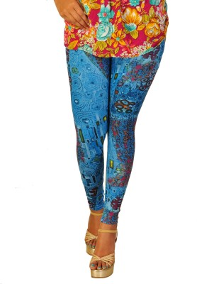 Berries Women's Blue, Multicolor Leggings