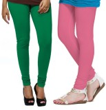 VP VIll Parko Women's Green, Pink Leggin...