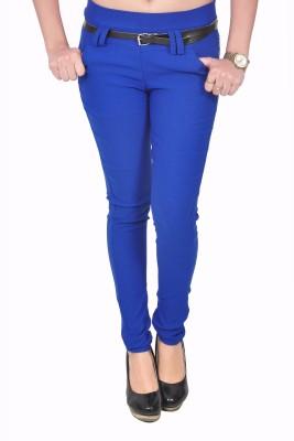 Zrestha Women's Blue Jeggings