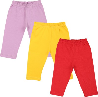 Color Fly Baby Girl's Purple, Red, Yellow Leggings