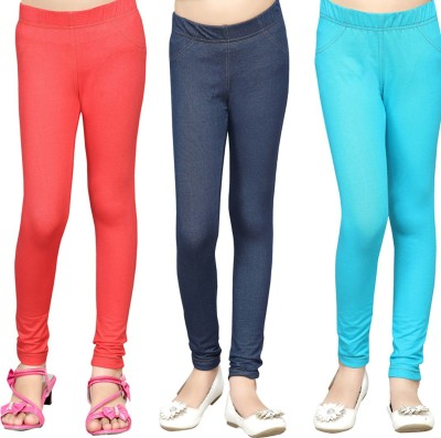 Greenwich Girl,s Multicolor Jeggings