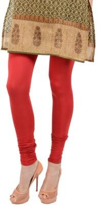 Apsn Retail Women's Red Leggings
