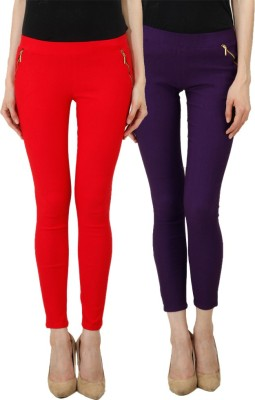 Ansh Fashion Wear Women's Multicolor Jeggings