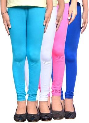 Roshni Creations Women's Blue, White, Pink, Blue Leggings