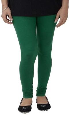 Fashioncrush Women's Dark Green Leggings