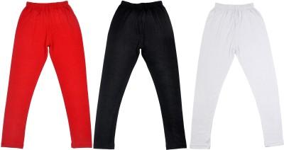 Perky Girl's Red, Black, White Leggings