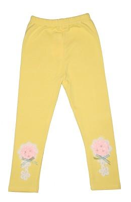 Habooz Girl's Yellow Leggings