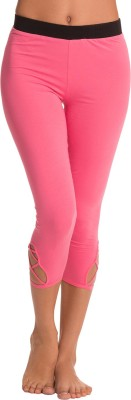 PrettySecrets Women's Pink Leggings