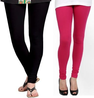 ZACHARIAS Women's Black, Pink Leggings
