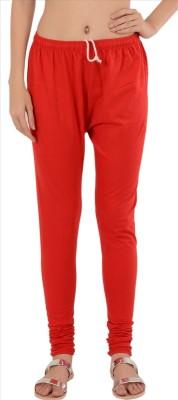 Skirts & Scarves Women's Red Leggings